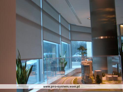Roleta  system RT - montaż Pro-System