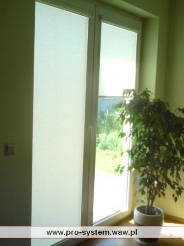 Roletki balkonowe - wysokość 228 cm. System UNI BESTA